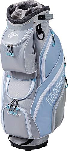 Top Flite Womens Flawless Golf Cart Bag (Gray/Blue)