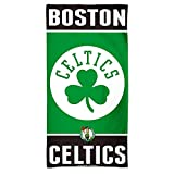 NBA Boston Celtics A1868715 Toalla de Playa de Fibra, 10 libras/30 Pulgadas x 60 Pulgadas