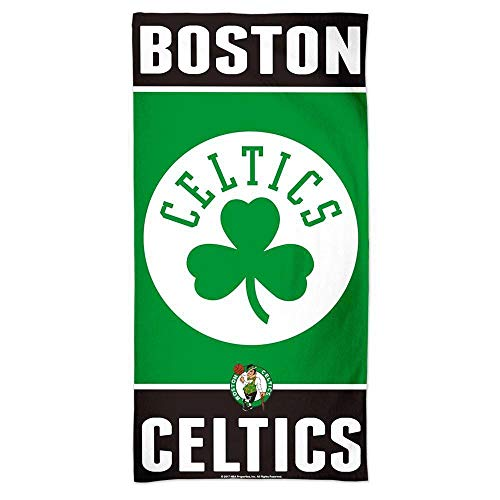 WinCraft NBA Boston Celtics A1868715 Fiber Beach Towel, 9 lb/30' x 60'