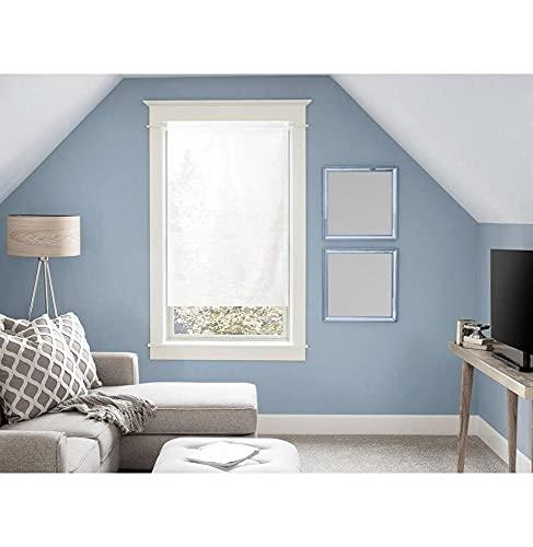 Tenda in voile per porta finestra in cotone 70x200 cm PANAMA Bianco