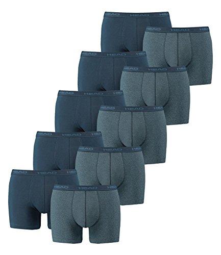 HEAD  Men Boxershort Basic Boxer 10er Pack, Größe:L;Farbe:blue heaven (494), L, 494 - Blue Heaven