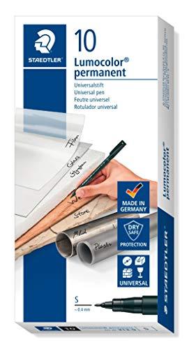 STAEDTLER Lumocolor 313-9 - Rotulador de Tinta Permanente de