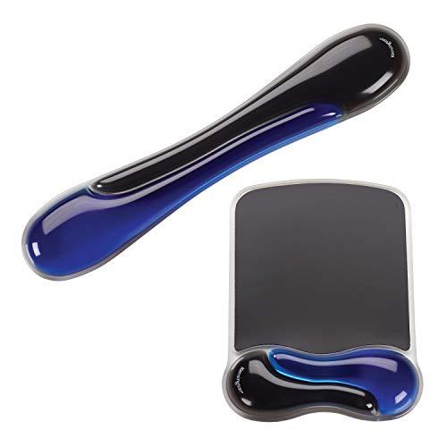 Kensington Duo Gel Mouse y Teclado reposamuñecas, Azul (K52920WW)