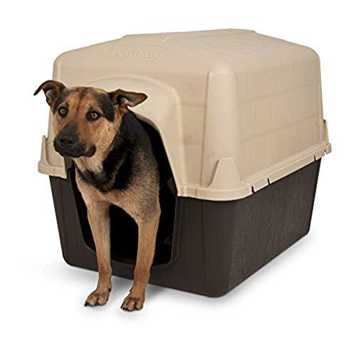 """Petmate 38"""" x 29"""" x 30"""" Barn Shape Insulated Dog House"""
