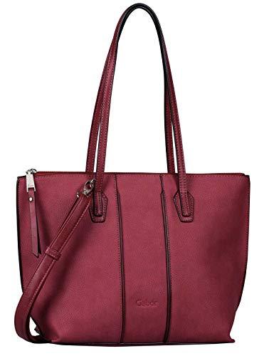 Gabor Shopper Damen Anni, (Rot), 35x24x12 cm, Gabor Tasche Damen