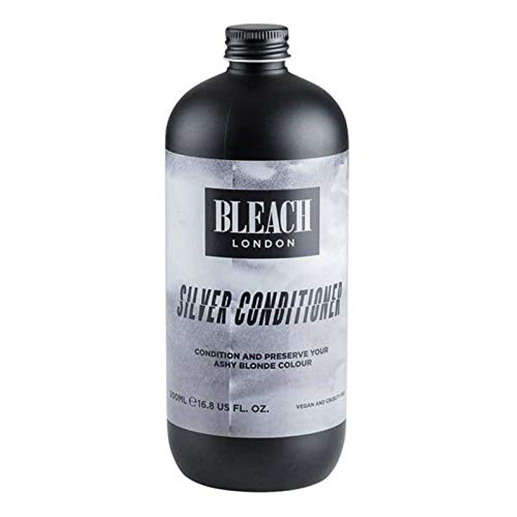 愛国的な石灰岩ベリ[Bleach London ] 漂白ロンドン銀コンディショナー500ミリリットル - Bleach London Silver Conditioner 500ml [並行輸入品]