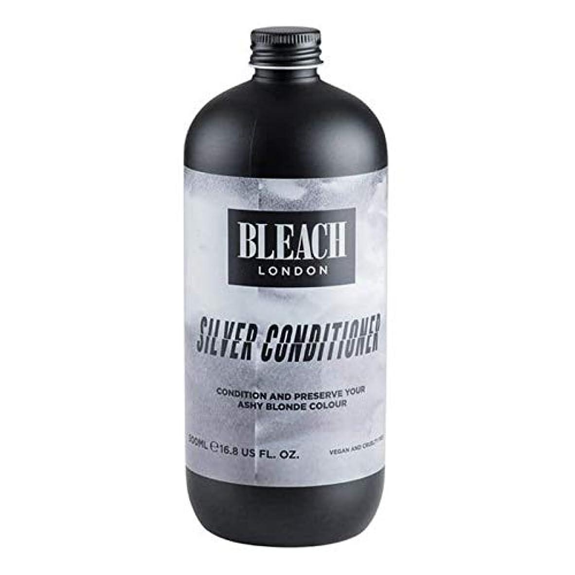 実験パールスーツケース[Bleach London ] 漂白ロンドン銀コンディショナー500ミリリットル - Bleach London Silver Conditioner 500ml [並行輸入品]