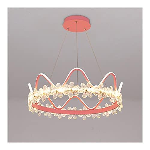 Lámpara De Araña De Cristal, Lámpara De Techo Interior Minimalista Moderna, Hermosa Lámpara Colgante LED,...