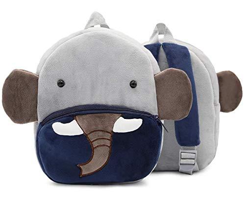 Cute Elephant Kids Backpacks Plush kindergarten Schoolbag