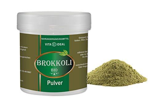 VITAIDEAL ® Brokkoli PULVER 300g + Messlöffel von NEZ-Diskounter