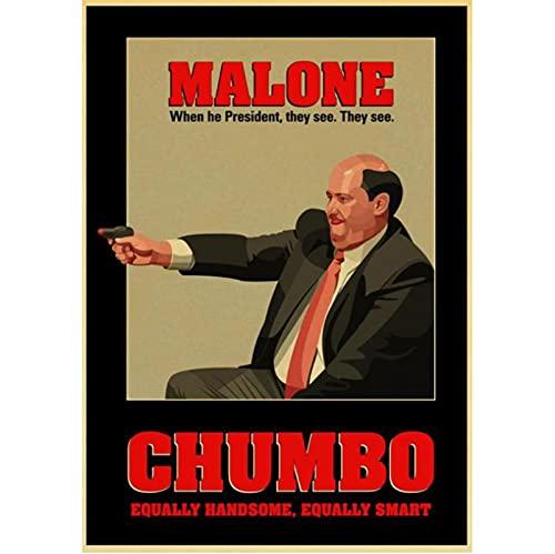 Fler stilar heta säljande klassiskt kontor TV-drama konstfilm duk affisch hem hotell bar sovrum vardagsrum väggdekoration 50 * 70 cm ramlös
