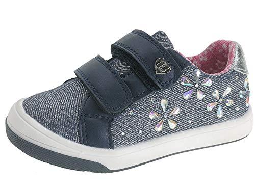 Beppi Unisex Baby Zapatos Sneaker, Blau, 21 EU