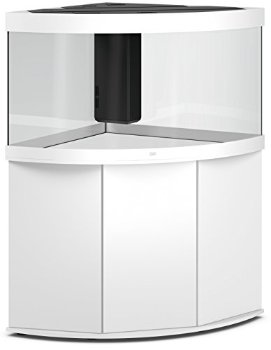 Juwel Aquarium 15451 Trigon 350 LED, mit Unterschrank SBX, weiß