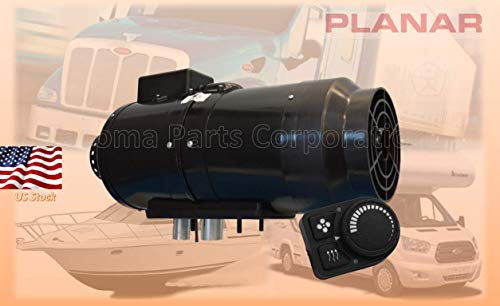 New Planar 8DM-12-TM 2KW Diesel Air Heater 12V with PU-5 controller Similar to Webasto, Airtronic, E...