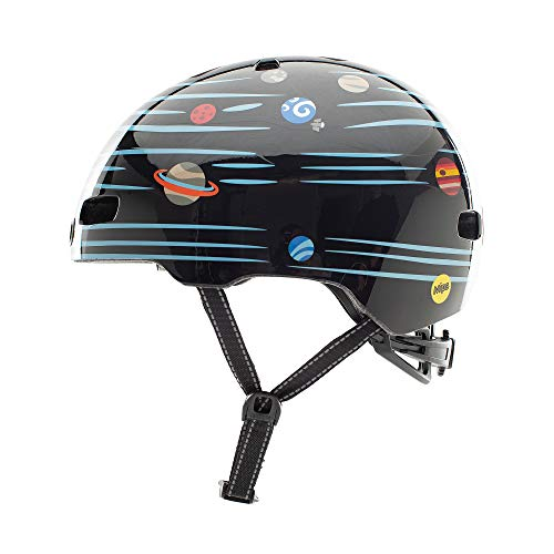 Nutcase Kinder Fahrradhelm Little Nutty MIPS Gloss, Defy Gravity, 48-52 cm, 10001