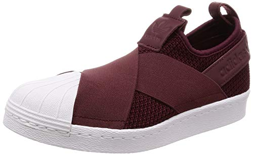 adidas Superstar Slip On W, Zapatillas para Mujer, Rojo (Red Night/Red Night/Footwear White 0), 36 2/3 EU
