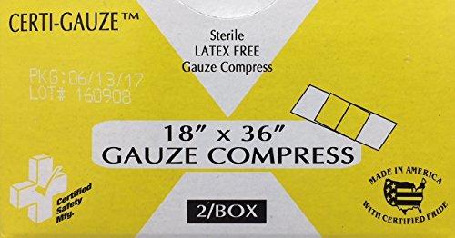 Certi-Gauze Compress (211-014) 18' X 36' # 638