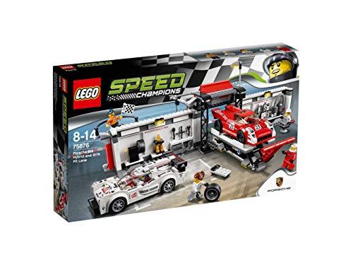 LEGO Cars Porsche Hybrid E K Pit Lane Costruzioni Piccole Gioco o, Multicolore, 804823