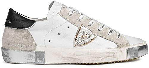Philippe Model Damen Paris Sneakers Bianco 36 EU