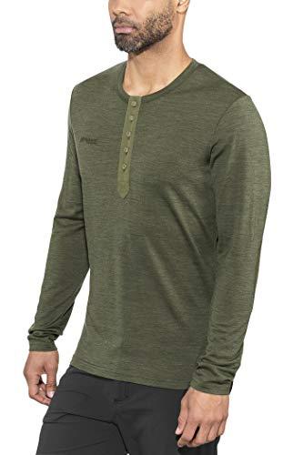 Bergans Henley Wool Shirt Men - Shirt aus Merinowolle