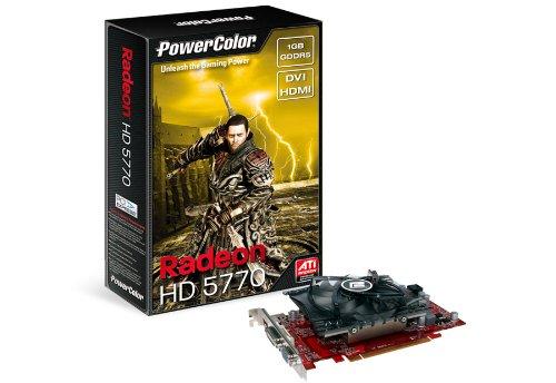 Powercolor ATI Radeon HD5770 Grafikkarte (PCI-E, 1GB GDDR5, HDMI, 2DVI)
