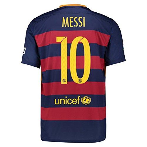 Nike MESSI #10 FC Barcelona Heim Trikot 2015/2016 Jugend (US-Größe) (US size-Y_YXL)