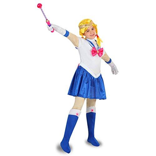 Pegasus Vestito Costume Maschera di Carnevale - MARINARETTA Sailor Moon - Taglia 10/11 Anni - 123 cm