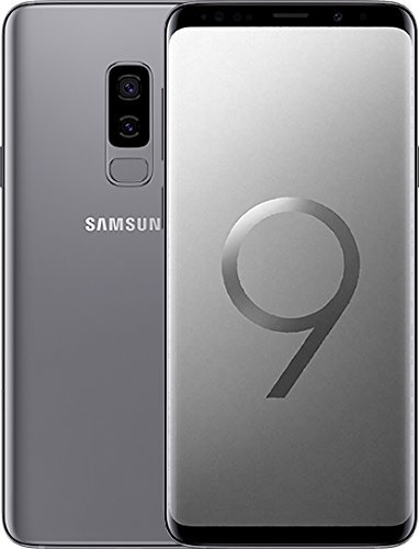 "Samsung Galaxy S9+ SM-G965F 4G 64GB Gris - Smartphones (6.2""), 64 GB, 12 MP, Android, 8, Gris) (Reacondicionado)"