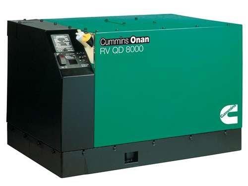 Onan Quiet Diesel Generator - 8000 Watt - (RV Qd 8000) - 8.0HDKAK-1046