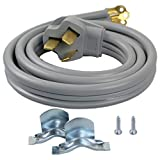 Supplying Demand 3 Wire Range Oven Cord 50-AMP 240 to 250 Volt 8 AWG Wire Compatible with All Major Residential Appliance Brands (4 Foot)