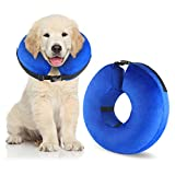 Best Dog Cones - Protective Inflatable Cone Collar for Dogs and Cats Review