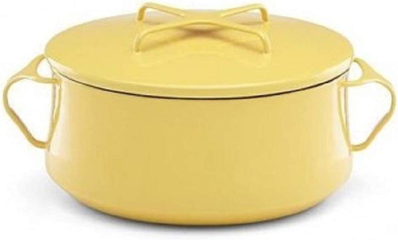 Dansk Kobenstyle Yellow Casserole With Lid