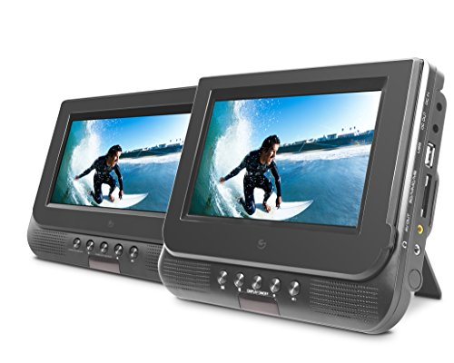 Fantastic Deal! Ematic ED727 7 Dual Screen Portable DVD Player