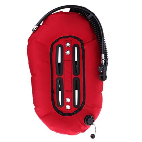 FLAMEER Scuba Diving Donut Wing Einzeltank Tauchtank Tauchflasche 30 lb / 13,3 kg BCD Auftriebskompensator für Schnorcheln Tauchen