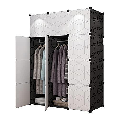 XingYing Plastic Storage Closet Shelf unità Portatile Armadio Armadio Cubo Decorazione Organizzatore da Te Scaffali Cubo per Risparmio Spaziale