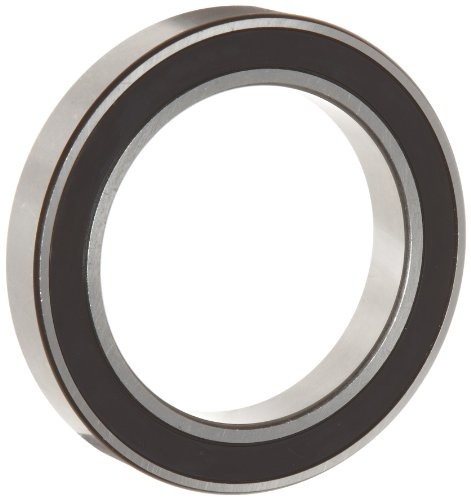 WJB 6903-2RS Deep Groove Ball Bearing, Double Sealed, Metric, 17mm ID, 30mm OD, 7mm Width, 1050lbf Dynamic Load Capacity, 580lbf Static Load Capacity