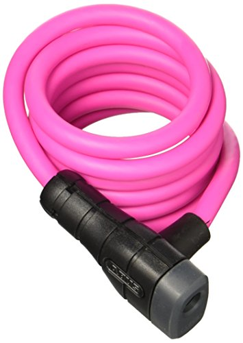 Abus Fahrradschloss 5510K/180/10 PK SCMU, pink, One Size, 15856-8