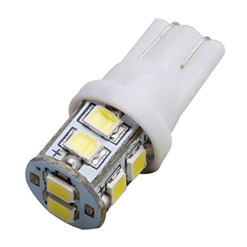 SHP Shping Luces LED 12V 20pcs 6500k Placa de matrícula T10-2835-10SMD Trucks Gire señal