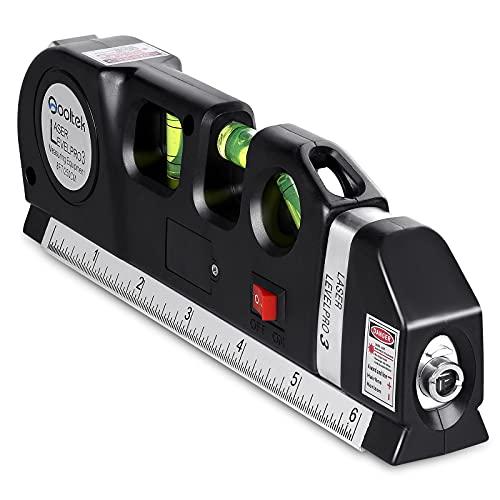 Qooltek Multipurpose Laser Level Laser Line 8 feet...
