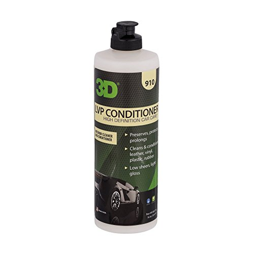 3D Leather, Vinyl & Plastic Conditioner | Cleans, Conditions & Protects | Extends The Life of Leather | Environmentally Friendly | Made in USA | All Natural | No Harmful Chemicals (16oz.)