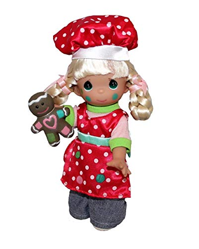 """Precious Moments Christmas 9"""" Love is in The Little Things Girl Cookie Maker Doll"""