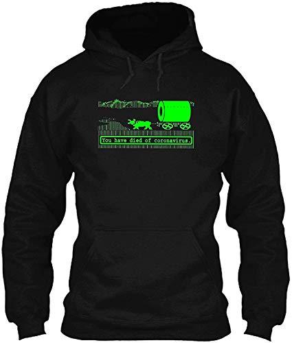 Oregon Trail -Cørønavïrus-Pandemic You Have Died of cøroñä##HDB t-Shirt- Hoodie for Men Women Black