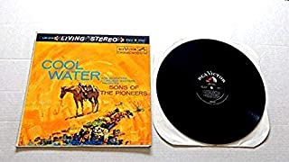 Sons Of The Pioneers Cool Water - RCA Records 1960 - Used Vinyl LP Record - 1960 Pressing - Tumbling Tumbleweeds - Red River Valley - Empty Saddles - Riders In The Sky