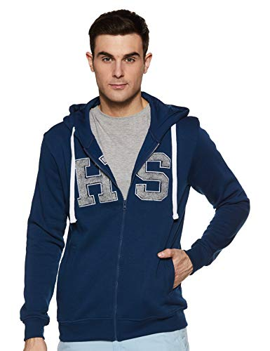 Amazon Brand – House & Shields Men Hooded Sweatshirt