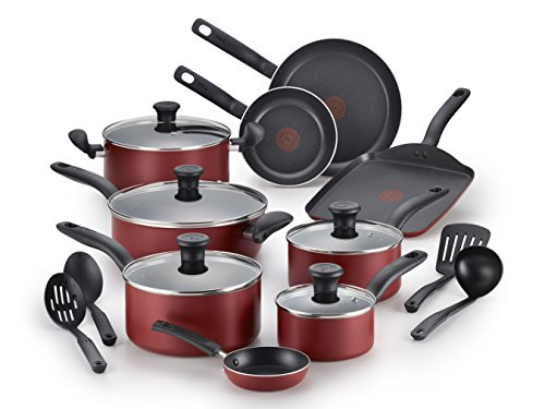 T-fal B209SI Initiatives Nonstick Inside and Out Dishwasher Safe Oven Safe Cookware...