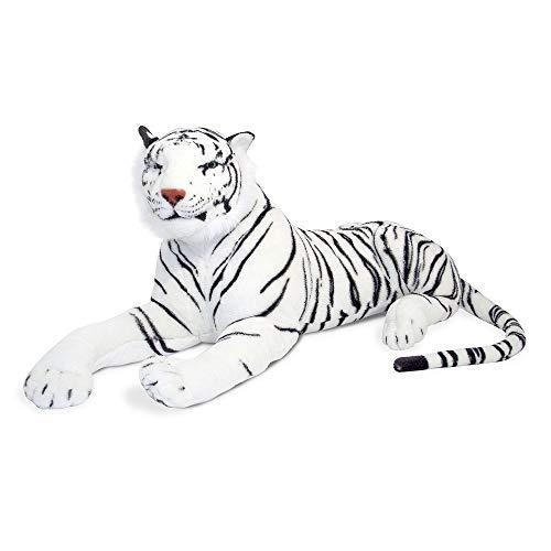 Melissa & Doug Melissa&Doug- White Tiger Giant Juguete de