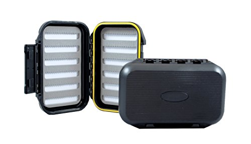 Kingfisher Medium Go-to Fly Box-Water Tight- Great Fly for Your Shirt or Vest Pocket Item 1206