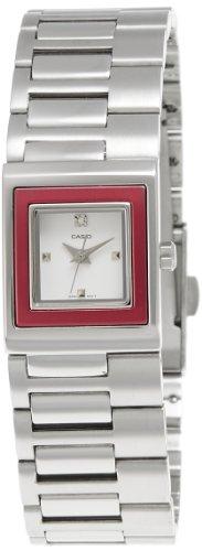 Casio LTP-1317D-4CDF - Reloj (Reloj de Pulsera, Aluminio, Acero Inoxidable, Rojo, Acero Inoxidable, Acero Inoxidable, Acero Inoxidable, Mineral)