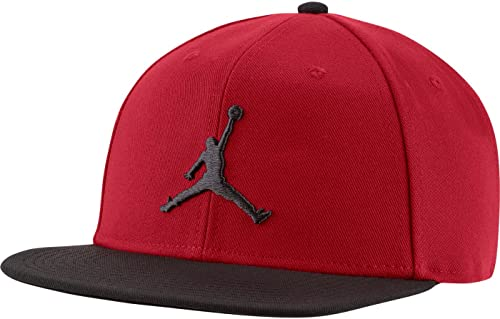 Nike Gorra Jordan Jumpman Snapback, Hombre, Gym Red/DK Smoke Grey/DK S, talla única