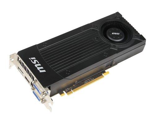 Asus GeForce GTX 660 Ti Grafikkarte (PCI-e 3.0, 2GB GDDR5, 2x DVI, HDMI, DisplayPort)